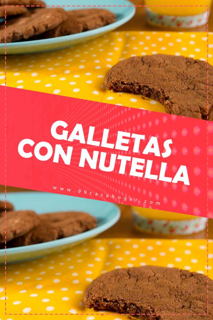 GALLETAS CON NUTELLA