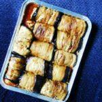 Pollo con manzanas, miel y mostaza